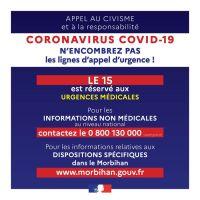 Coronavirus - point sur la situation