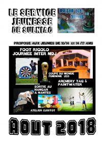 MDJ - Vacances d'été 2018